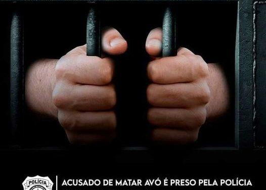 Acusado de matar avó é preso pela Polícia Civil em Santa Izabel