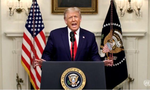 Trump ataca China na Assembleia Geral da ONU