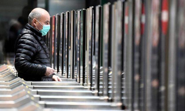 Em uma semana, Europa registra 27% mais mortes por covid-19