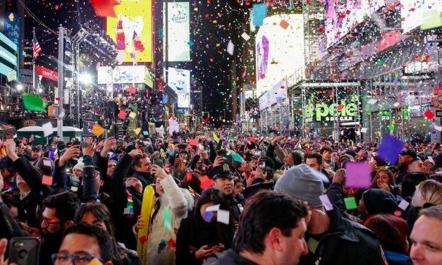 Celebração do ano-novo na Times Square, em Nova York, será virtual