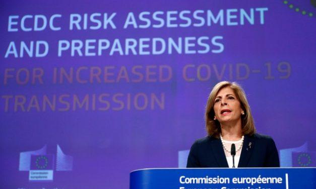 UE faz apelo por medidas reforçadas para evitar novo aumento de casos de coronavírus