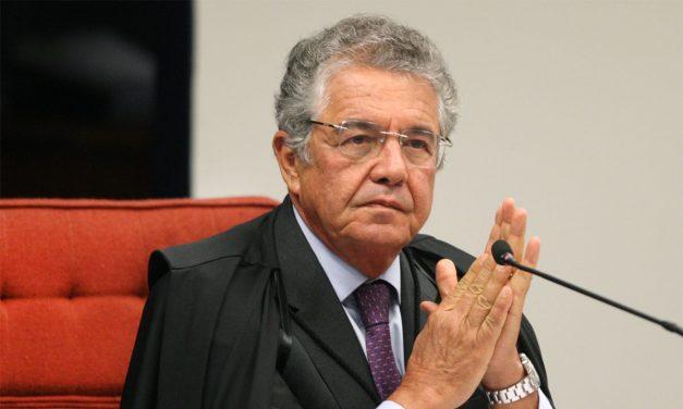 Marco Aurélio conclui voto a favor de depoimento por escrito de Bolsonaro