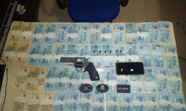 Suspeitos de roubo são presos em Barcarena