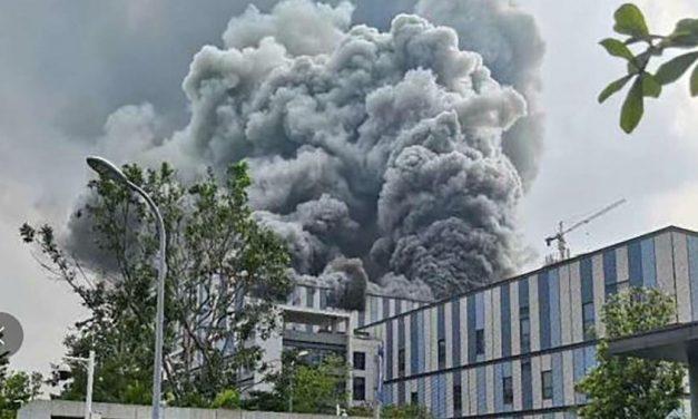 China: incêndio em fábrica em construção da Huawei deixa 3 mortos