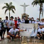 Grupo de romeiros deixa Castanhal em caminhada até a Basílica de Nazaré