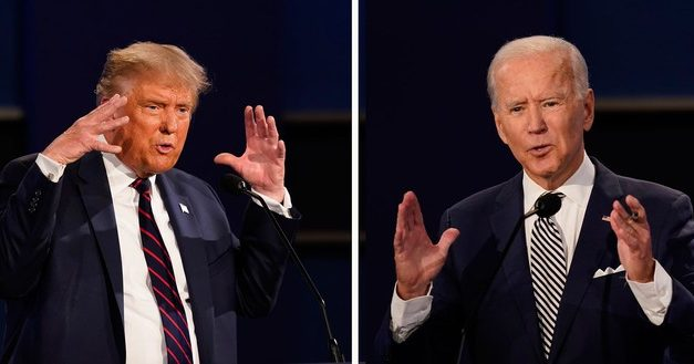O primeiro debate de Trump e Biden em 7 destaques