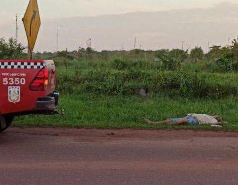Corpo de idoso é encontrado na madrugada desta terça-feira (29) em Moju