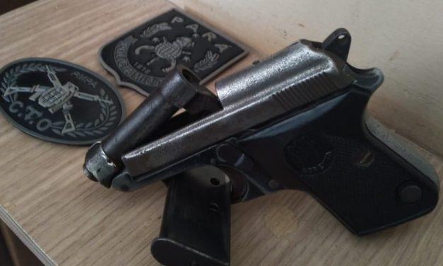 PM apreende arma de fogo em Barcarena