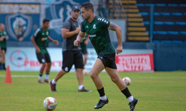 Após lesão no estadual, Eduardo Ramos revela ansiedade por reencontro com o Paysandu