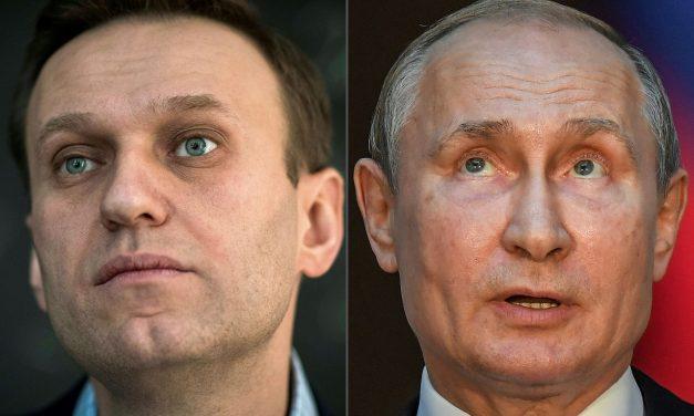 Navalny acusa Putin de estar por trás de seu envenenamento