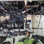 Fogo destrói casa após garota de 16 anos tentar fazer batata frita