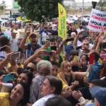 Nordestino parece que ganhou na Mega-Sena quando vê água, diz Bolsonaro