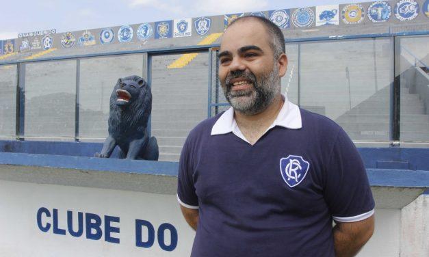 """Fábio Bentes confirma que será candidato à reeleição no Remo: """"Precisamos continuar o trabalho"""""""