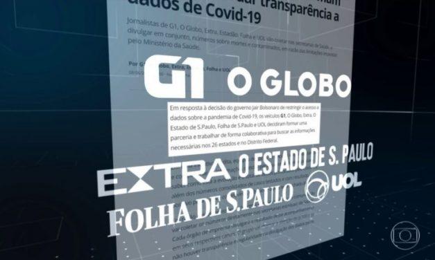 Casos e mortes por coronavírus no Brasil em 8 de outubro, segundo consórcio de imprensa