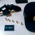 Foragido da Justiça é preso com arma em Barcarena