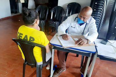 Serviços de saúde e emissão de documentos beneficiam internas do Centro de Reeducação