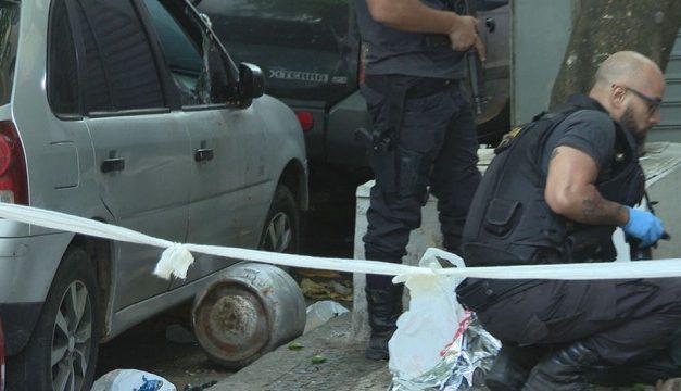 Homem morre após ser atingido por botijão de gás jogado de prédio em Copacabana