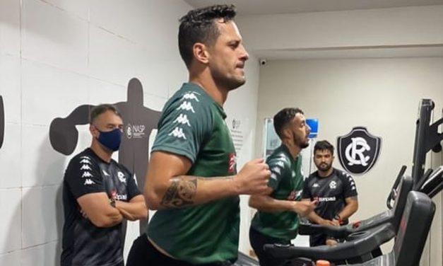 Liberados,Eduardo Ramos,João Diogo,recuperados,Covid-19,voltam,treinar
