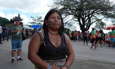 Líder indígena Munduruku do Pará recebe prêmio internacional de Direitos Humanos