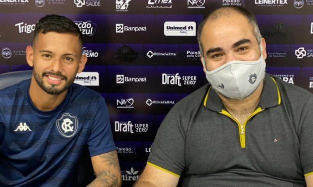 Remo anuncia renovação de contrato do atacante Wallace