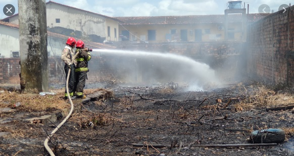 Incêndio no bairro Cereja causa transtorno à população