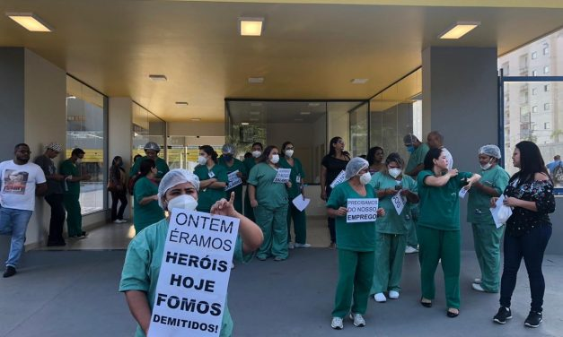 Hospital Regional de Castanhal dispensa 300 colaboradores sem aviso prévio e salários atrasados