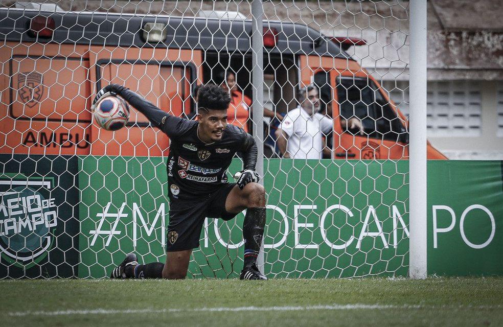Após críticas, Gabriel Leite deve dar lugar a Paulo Ricardo no gol do Paysandu