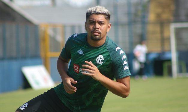 Remo oficializa fim de vínculo com lateral-direito Everton Castro