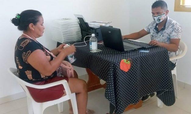 Marajó: Emater cadastra famílias quilombolas de Gurupá no Programa 'Fomento Rural'