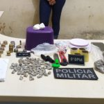 6º BPM prende mulher suspeita de tráfico de drogas