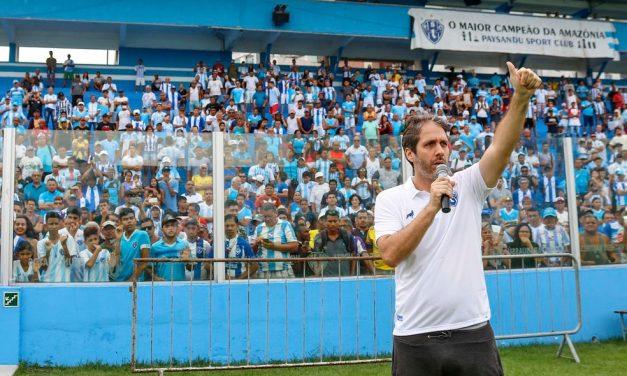 """""""Ninguém está satisfeito"""", afirma presidente do Paysandu sobre a má fase do clube na Série C"""