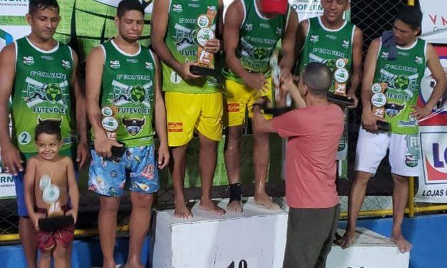Duplas do Amapá conquistam um título e um 2º lugar na Copa Verde de Futevôlei no Pará