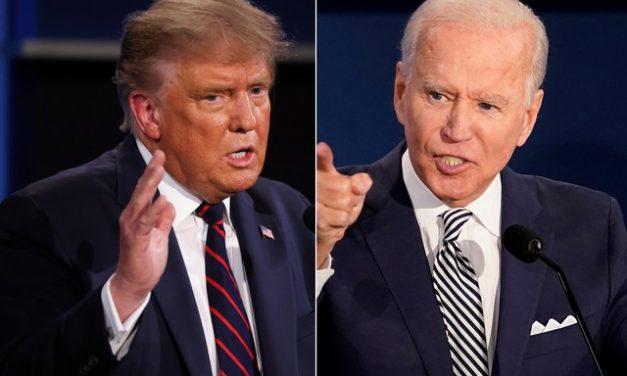 Debate final em clima de revanche para Trump e empate para Biden