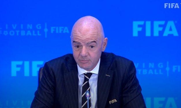 """Presidente da Fifa descarta """"Premier League europeia"""" proposta por United e Liverpool"""