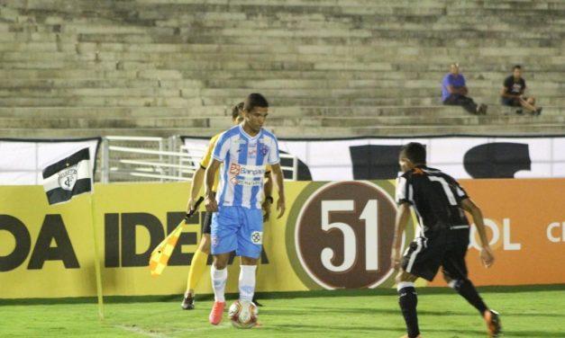 Voltou para o campeonato! Paysandu vence o Treze-PB, com gol relâmpago