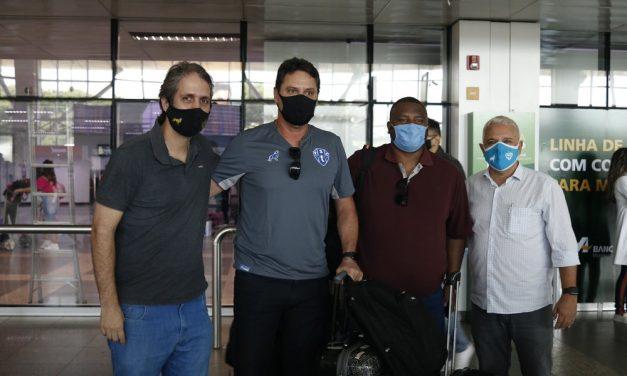 Junto com Brigatti, Paysandu contrata mais dois auxiliares e um analista de desempenho