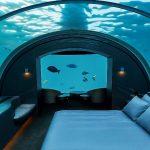 Quartos embaixo d'água chamam atenção em hotéis e resorts pelo mundo