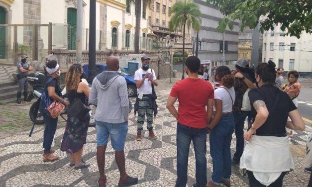 Tour sobre cultura negra em São Paulo é seguido e filmado pela PM por 3 horas