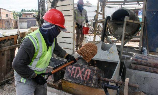 Trabalhadores da construção civil garantem desenvolvimento e qualidade de vida para a população