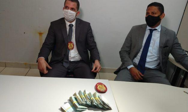 Estagiário é preso suspeito de desviar pelo menos R$ 170 mil em agência de banco no TO
