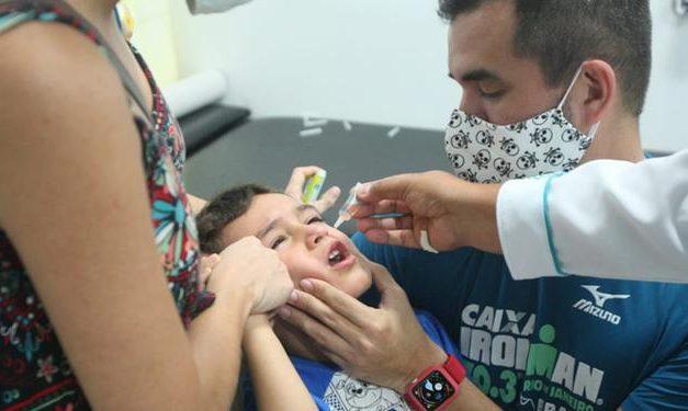 Longe da meta, campanha de vacinação contra poliomielite segue até 30 de novembro