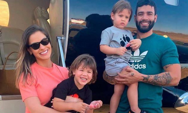 Gusttavo Lima pagará R$ 56 mil de pensão a Andressa e filhos