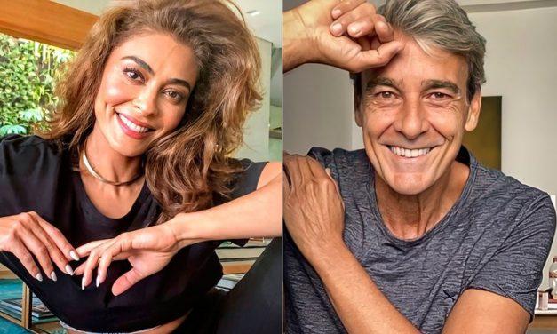 Juliana Paes conta sobre perrengue nos bastidores com Alexandre Borges