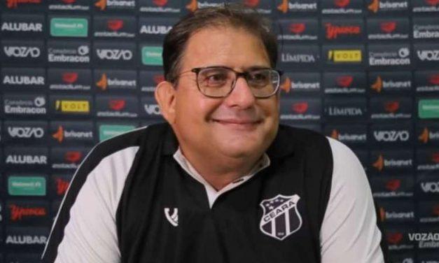 """Guto exalta jogadores do Ceará após classificação na Copa do Brasil: """"Querem fazer história"""""""