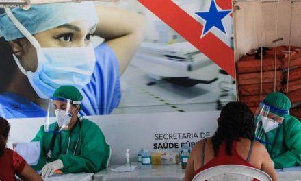 Pará supera 255 mil casos e registra 6.773 óbitos por covid-19