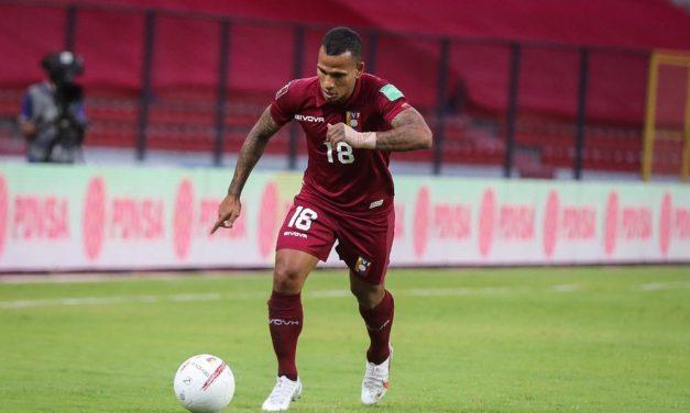 Venezuela divulga lista com Soteldo, Savarino, Hurtado e Otero para enfrentar Brasil e Chile