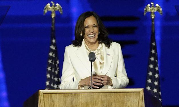 Kamala Harris faz 1º discurso como vice-presidente eleita dos Estados Unidos: 'Vocês escolheram esperança, decência, ciência'