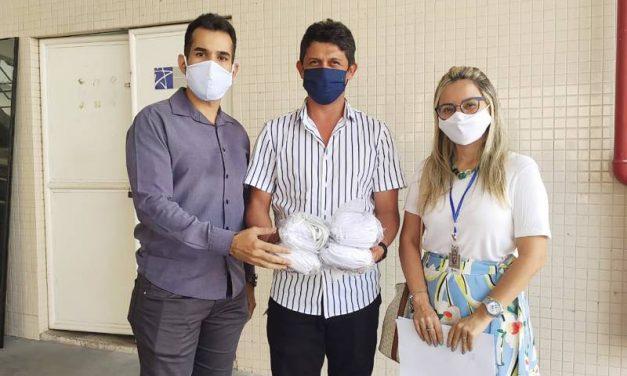 Igeprev doa máscaras a órgãos públicos do Estado