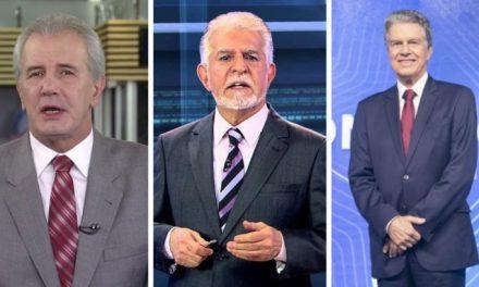"""Os consagrados """"cabeças brancas"""" que fazem sucesso no jornalismo do Brasil"""