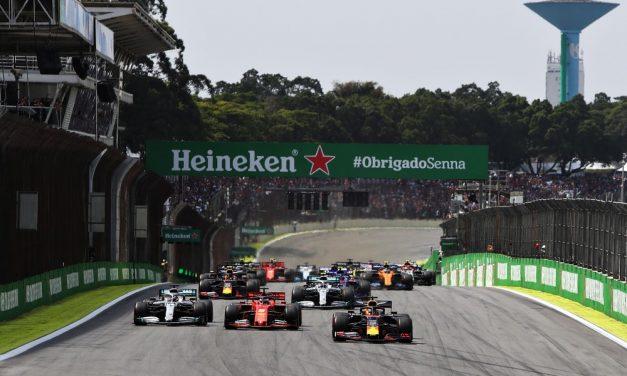 Fórmula 1 divulga calendário provisório de 2021 com GP do Brasil em Interlagos